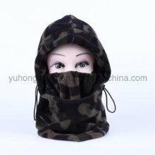 Long Winter Warm Knitted Polar Fleece Hat/Cap