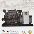 100kw marine diesel generator water cooled radiator cooling powered by Shangchai 6135JZCaf with CCS certificate