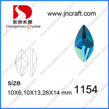 Factory Wholesale Peridot Glass Stones pour bijoux en ornement