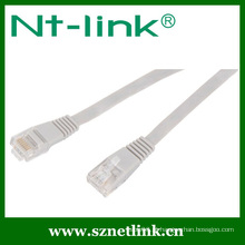 Flat UTP RJ45 23awg Cat6 Patch Cord