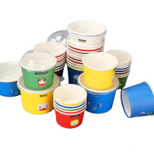 Factory hot sale eco friendly wholesale paper ice cream cup
