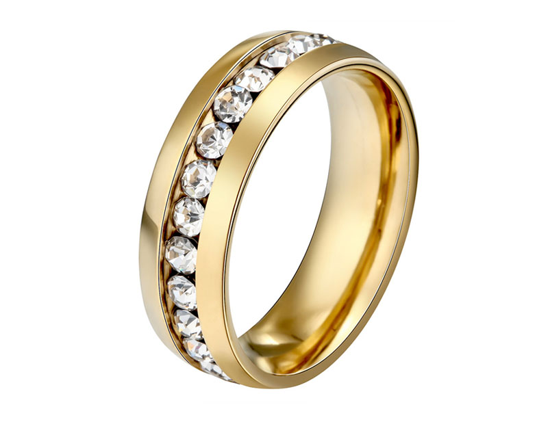 gold plated wedding ring