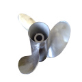 O OEM moldou a hélice marinha do motor do barco da liga de cobre de 3 lâminas