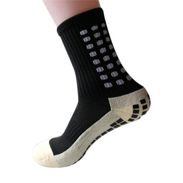 New Sports Anti Slip Soccer Socks Cotton Football Grip Socks