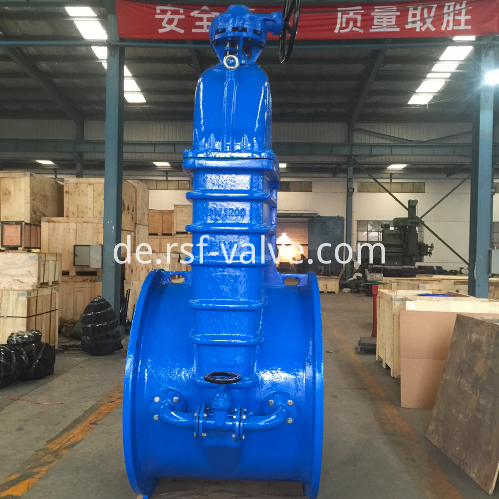 Resilient Gate Valve With Bypass
