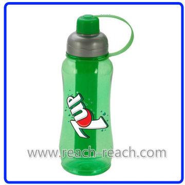 Kunststoff Reise Wasserflasche mit Eis Schlauch im Inneren (R-1038)