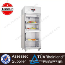 Kitchen Equipment 2 Glass Doors commercial refrigerator dimensions