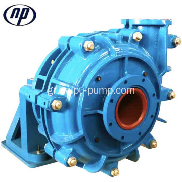 Υψηλή απόδοση 10/8 ST-AH Metal Liner Slurry Pump