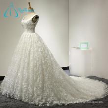 2017 Morden Lace Satin Classic Vestidos De Novia Wedding Dress Backless