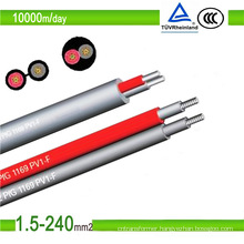 TUV Approved PV1-F Single Core Solar PV Cable