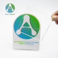 OCAN cast clear acrylic plastic sheet 3mm