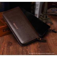 Mens réplica designer para importador de carteiras de couro feitas na Índia