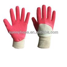 Interlock-Liner mit Latex-Handschuhen