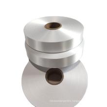Cheap factory price single side pearl polyester taffeta ribbon