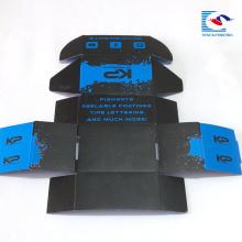 Boîte faite sur commande d'emballage de papier de l'expédition E de logo fait sur commande de haute qualité