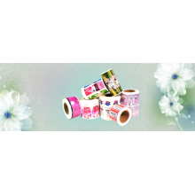 Etiqueta de frascos de produtos de beleza à prova d'água personalizada
