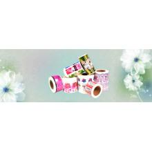 Custom Waterproof Beauty Care Products Bottle Label