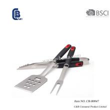 Conjunto de ferramentas para churrasqueira