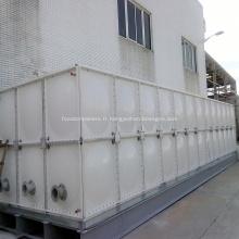 Réservoir d'eau chaud à la maison d'utilisation FRP de vente pour le récipient de stockage d'eau potable