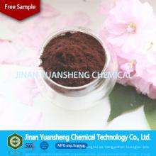 Lignina de sodio hecha en China 2015 superplastificante concreto
