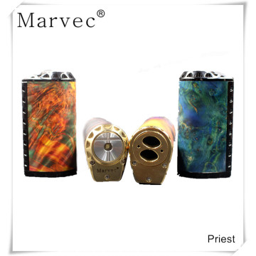 100% original Ecigarette vapee stabilized wood box mod