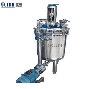 Stainless Steel Paint Powder Mulsifying Homogenizer Mixing Emulsification Tank