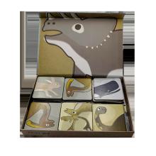 Custom design Children animal picture memory game paper card Beneficial wisdom