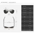 Gafas de sol estilo retro clásicas y polarizadas de los años 80 para hombres y mujeres