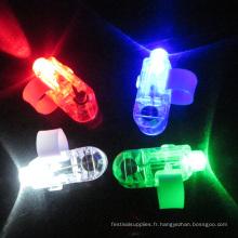 Led partie laser lumière anneau pour les enfants du parti