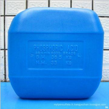 Prix de Competitve pour l'acide phosphorique 85% catégorie comestible