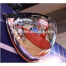 Drop ceiling half dome safety mirror/half moon convex mirror