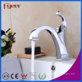 Fyeer Neues Design Niedrigen Körper Verchromt Crooked Quadrate Auslauf Einhand Wasserhahn Wasser Mischbatterie
