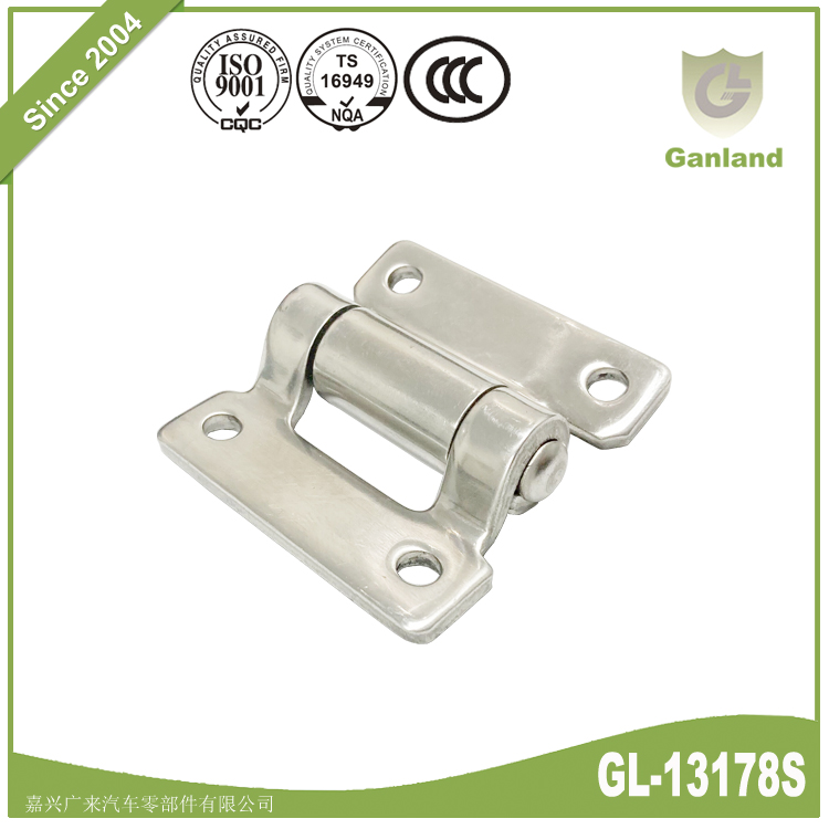 Stainless Steel Fixed Pin Cabinet Butt Hinge