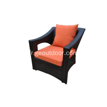 ensemble sofa de patio moderne en aluminium