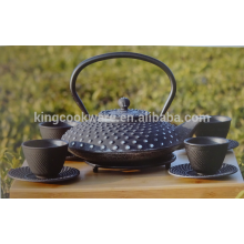 Enamel cast iron kongfu kettle / tea pot