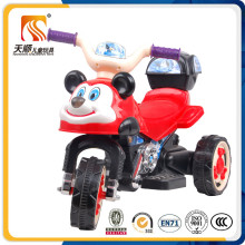Cute Kids Electric Motorcycle with Basket and Music Wholesale