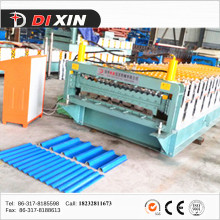 Double Deck Metal Roofing Tile Roll Forming Machine