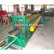 Machine à formage de rouleau en forme de poudre en acier pur et professionnel C en acier inoxydable