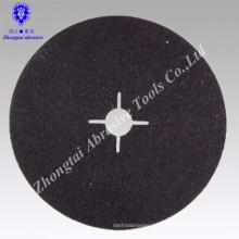 hochwertige Fiber Disc Siliziumkarbid zum Schleifen von Stein, Edelstahl