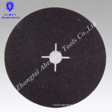 high quality Fiber disc silicon carbide for grinding stone, stainless steel