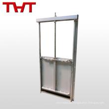 Manuelles quadratisches Wasser Penstock-Schleusentor