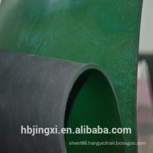 Green Black Conductive And Antistatic Rubber Sheet / Mat
