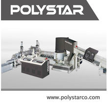 2 etapas LDPE LLDPE HDPE Máquina de grânulos de PP para filme impresso