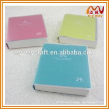 Design diferente de notebook de capa dura, caderno de escola para novos produtos