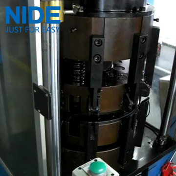 Hydraulic system Stator Coil Middle Forming Machine