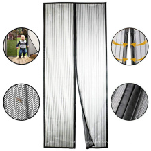 Mosquito Curtain Door Screen Curtain Hands-Free Mosquito Net Curtains