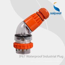 SAIP Высокое качество IP66 2P + E / 32A / 250V 3-контактный плоский разъем