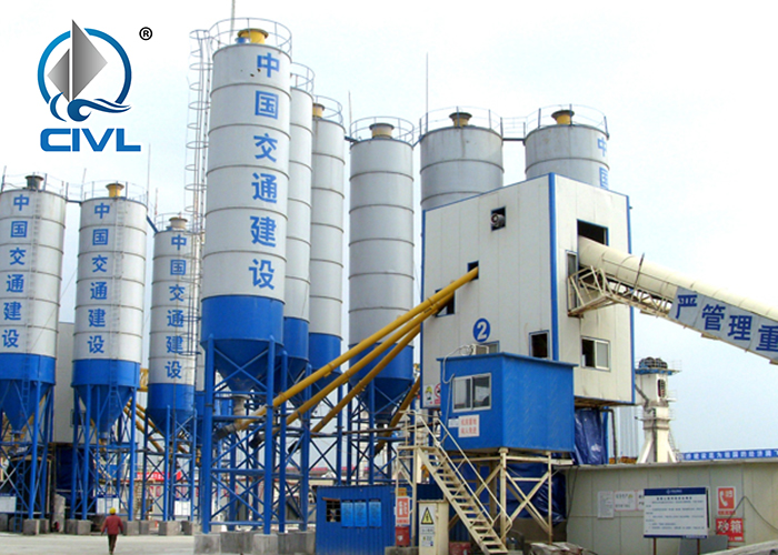 120t Concrete Mix Plant