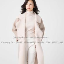 Reversibel Cashmere Coat Of Pager Suri Alpaca