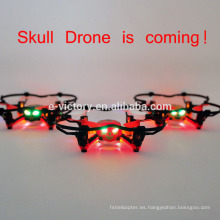 De último minuto en drone mini quadcopter de temporada venta cráneo Drone con luces Mini quadcopter rc control remoto